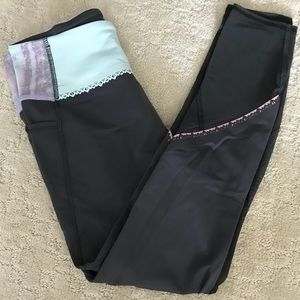 Bundle! Matching shorts and leggings in size 12